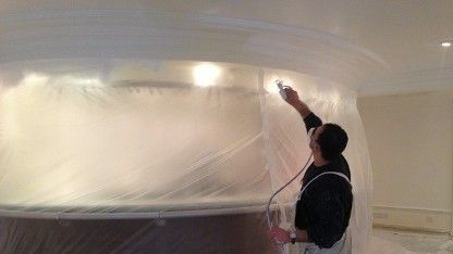 we use air spray to reach hard surfaces and reduce the mess